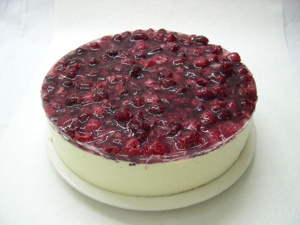 Käse-Himbeer-Torte
